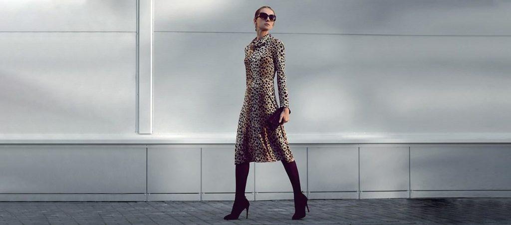 Welche Schuhe Passen Zum Kleid Mit Leopardenmuster Entdecke Unsere Inspirationen Blog Eschuhe De