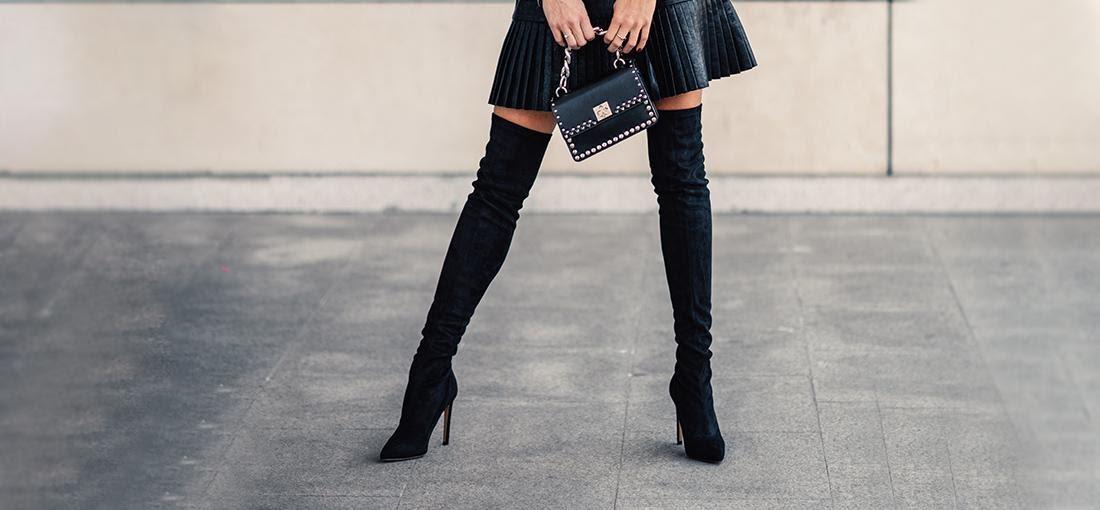 Stiefel anziehen overknee Was ist