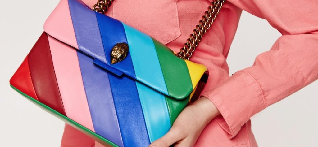 bunte Damen Handtasche